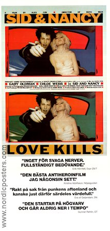 Sid and Nancy 1987 poster Gary Oldman