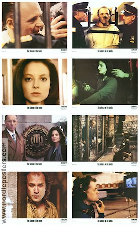 The Silence of the Lambs 1990 lobbykort Anthony Hopkins Jonathan Demme
