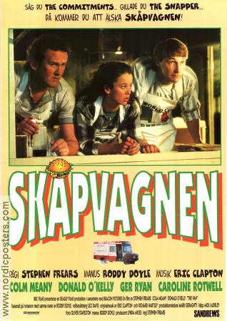 Skåpvagnen 1996 poster Colm Meaney Stephen Frears