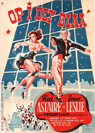 The Sky´s the Limit 1943 poster Fred Astaire