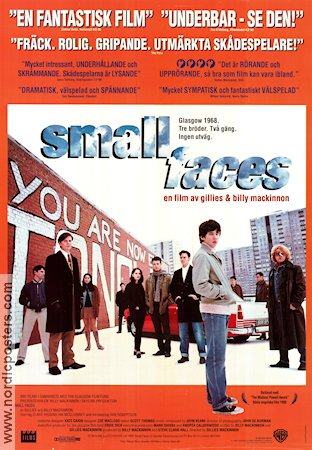 Small Faces 1995 poster Claire Higgins