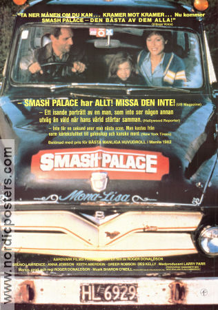 Smash Palace 1982 poster Bruno Lawrence
