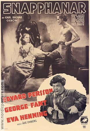 Snapphanar 1942 poster Edvard Persson