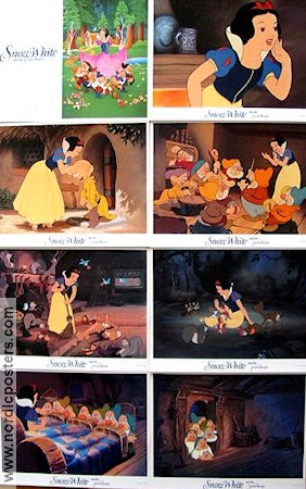 Snow White and the Seven Dwarfs 1938 lobbykort