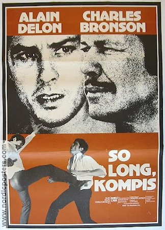 So Long kompis 1968 poster Charles Bronson