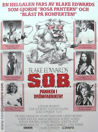 S.O.B. 1981 poster Julie Andrews Blake Edwards