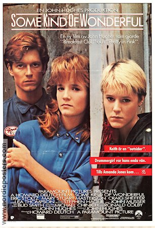 Some Kind of Wonderful 1987 poster Eric Stoltz John Hughes