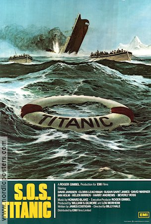 S.O.S. Titanic 1979 poster Billy Hale