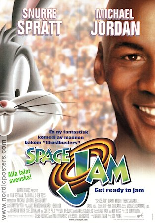 Space Jam 1996 poster Bugs Bunny