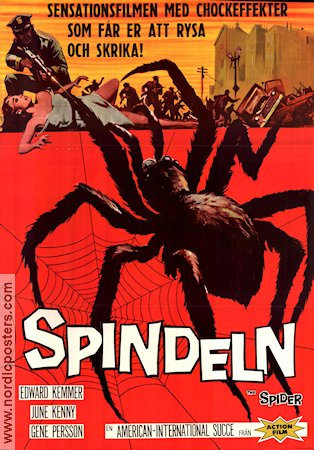 Spindeln Poster 70x100cm NM original