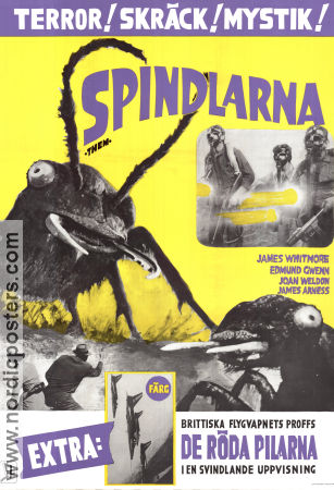 Spindlarna 1954 poster James Whitmore Gordon Douglas