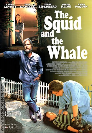 The Squid and the Whale 2005 poster Jeff Daniels Noah Baumbach