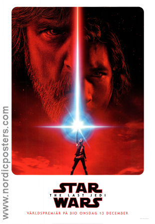 Star Wars Episode VIII The Last Jedi 2017 poster Daisy Ridley Rian Johnson