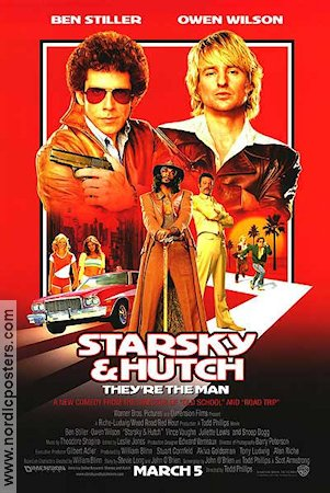 Starsky and Hutch 2004 poster Ben Stiller