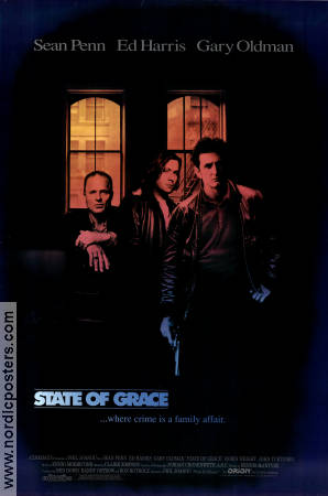 State of Grace 1990 poster Sean Penn Phil Joanou