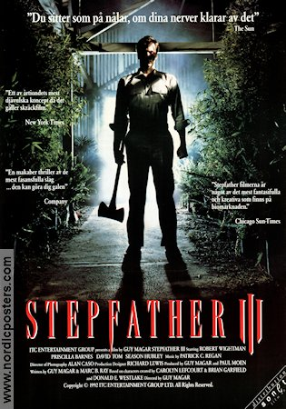 Stepfather 3 1992 poster Robert Wightman