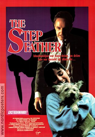 The Stepfather 1987 poster Terry O´Quinn