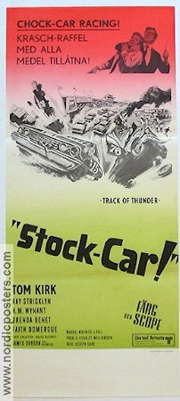 Stock-Car 1968 poster Tom Kirk