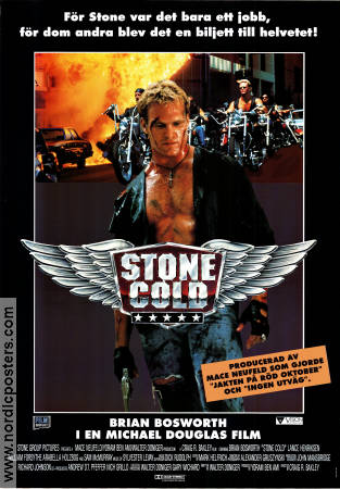 Stone Cold 1991 poster Brian Bosworth Craig R Baxley