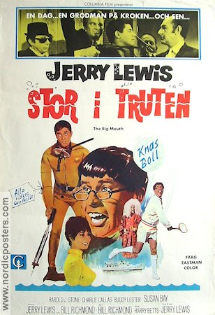 Stor i truten 1967 poster Jerry Lewis