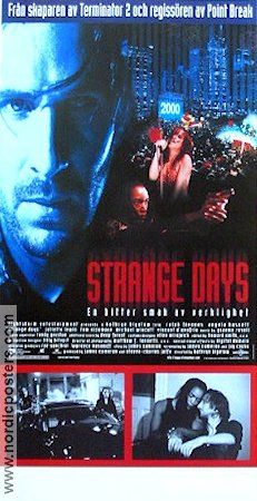 Strange Days Poster 30x70cm NM original