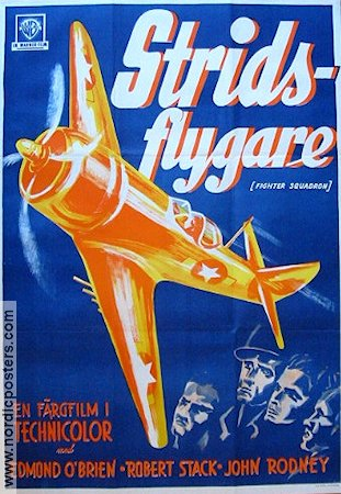 Stridsflygare 1948 poster Edmond O´Brien
