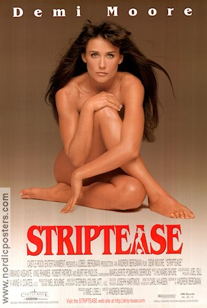 Striptease Poster 68x102cm USA RO original