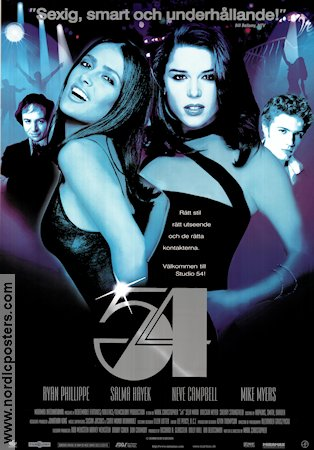 Studio 54 1999 poster Ryan Phillippe
