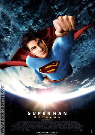 Superman Returns 2006 poster Brandon Routh Bryan Singer