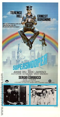 Supersnooper 1980 poster Terence Hill Sergio Corbucci