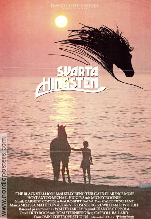 Svarta hingsten 1979 poster Mickey Rooney