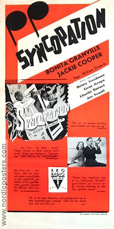 Syncopation 1943 poster Jackie Cooper