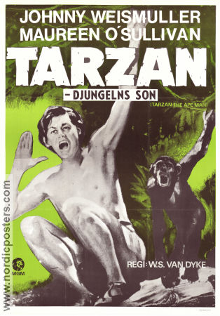 The Son of Tarzan by Edgar Rice Burroughs-Four Square UK Paperback-1964