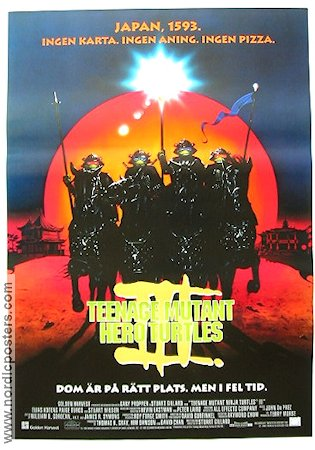 Teenage Mutant Hero Turtles 3 Poster 70x100cm RO original