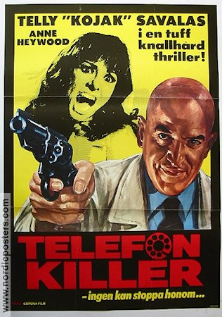 Telefon Killer 1978 poster Telly Savalas