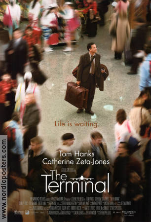 The Terminal 2004 poster Tom Hanks Steven Spielberg