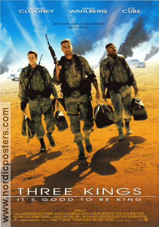 The Three Kings 1999 poster George Clooney