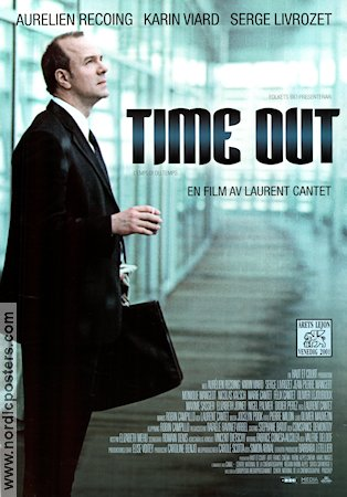 Time Out 2001 poster Aurelien Recoing