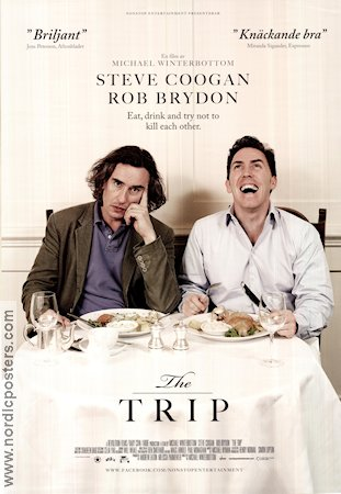 The Trip 2010 poster Steve Coogan Michael Winterbottom