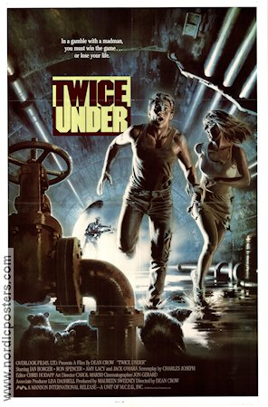 Twice Under 1989 poster Ian Borger Dean Crow