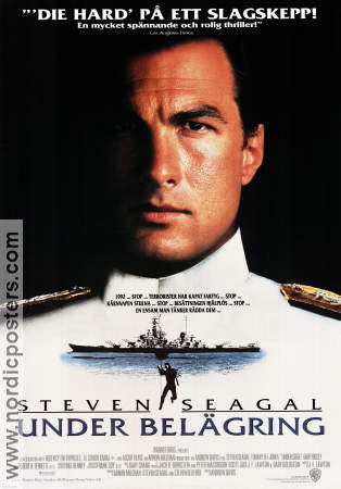 Under belägring 1992 poster Steven Seagal