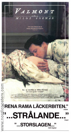 Valmont 1989 poster Colin Firth Milos Forman