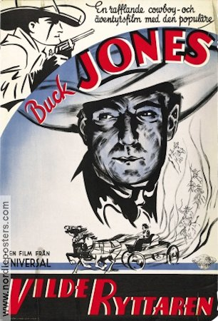 Vilde ryttaren 1934 poster Buck Jones