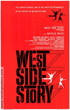 West Side Story 1962 poster Natalie Wood