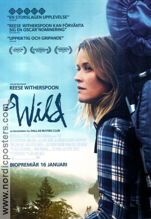 Wild 2014 poster Reese Witherspoon Jean-Marc Vallée