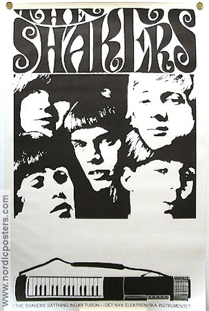 The Shakers 1967 affisch