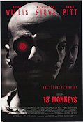 12 Monkeys Poster 68x102cm USA RO original