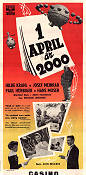 1. April 2000 1952 poster Hilde Krahl