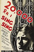 20000 år i Sing-Sing 1932 poster Spencer Tracy Michael Curtiz