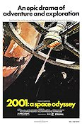 2001 A Space Odyssey Poster reproduction RO 69x99